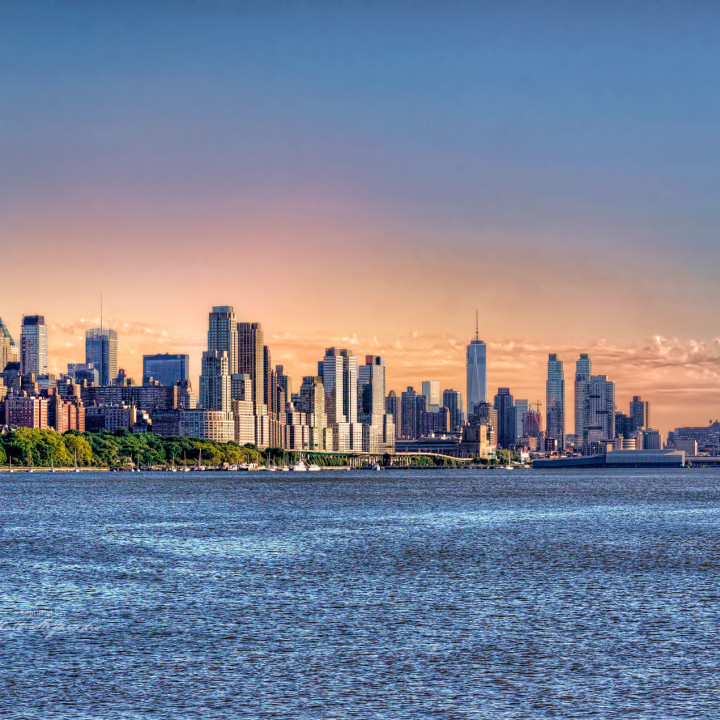 The New York City in HDR