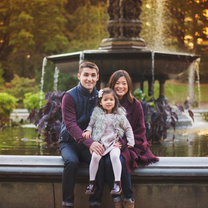 The Pintos | Central Park, NYC, New York, Family Photographer