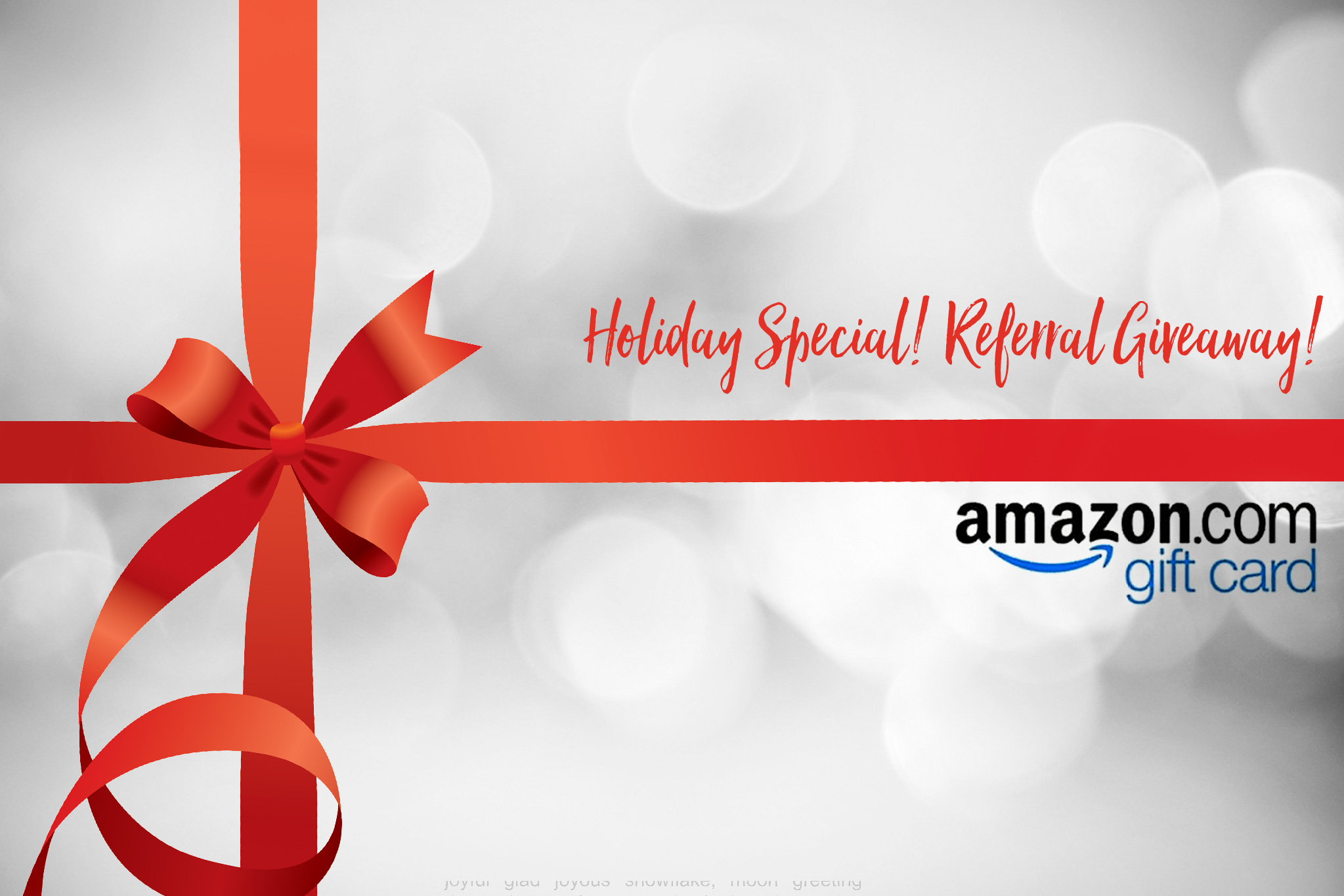 Holiday giveaway 50 amazon gift card for your referral m4hsunfo