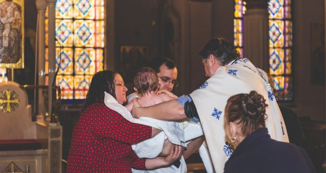 The M Family | NYC Greek Baptism & Event Photographer
